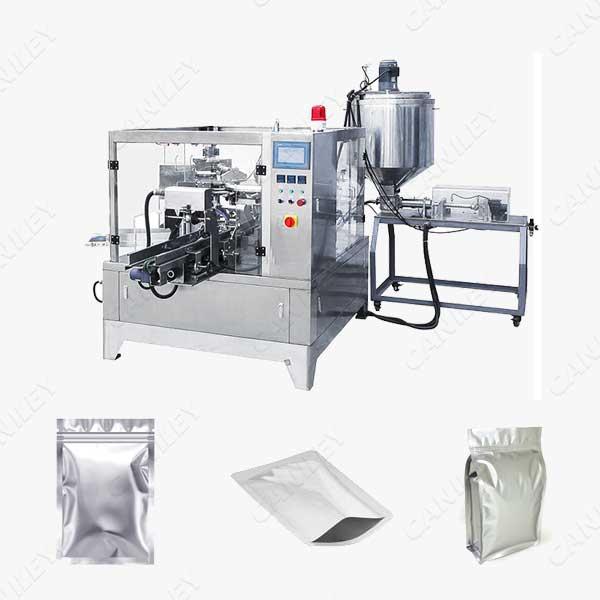 foil pouch filling machine