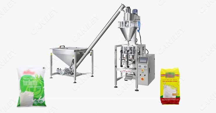 Milk Powder Packaging Process